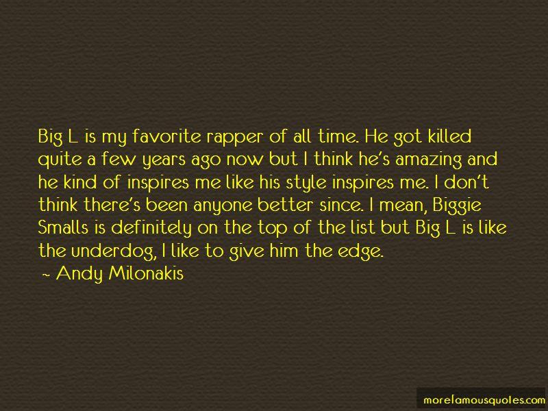 Biggie Rapper Quotes