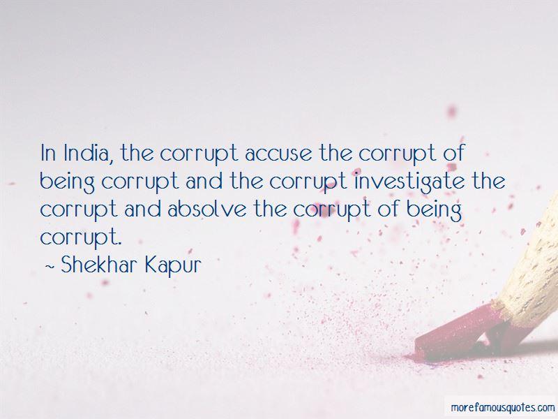 Corrupt India Quotes