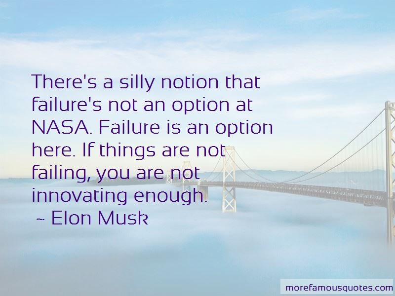 Failing Is Not An Option Quotes