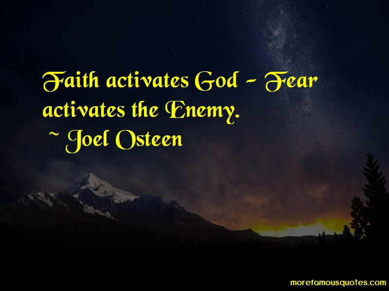 Faith Activates Quotes