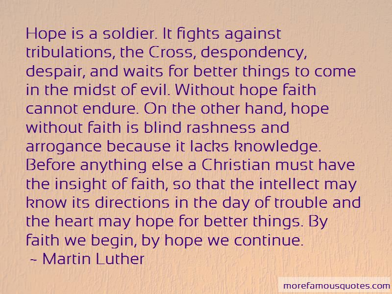 Faith Is Blind Quotes
