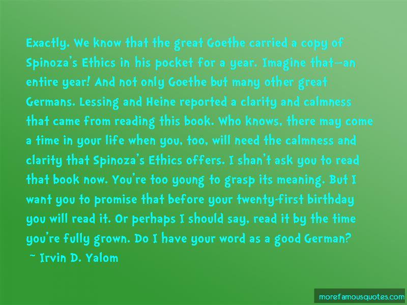 Good Calmness Quotes