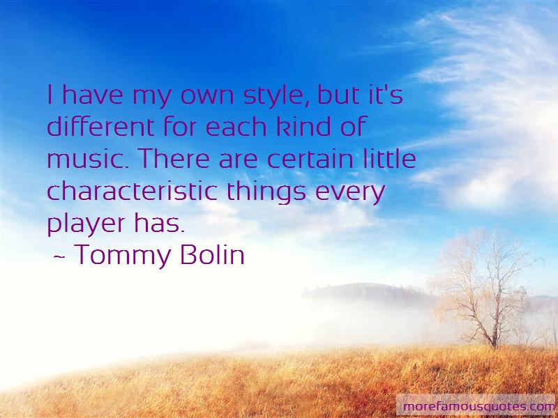 Have My Own Style Quotes Pictures 4