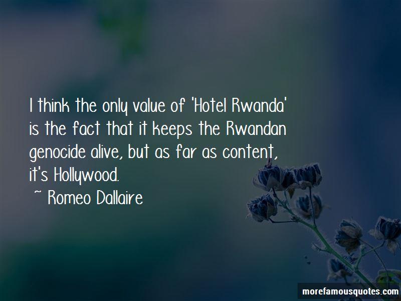 Hotel Rwanda Genocide Quotes