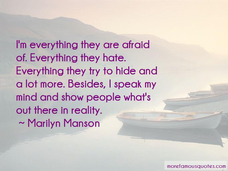 I Speak My Mind Quotes Pictures 2