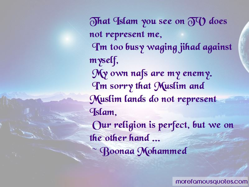 Jihad Al Nafs Quotes