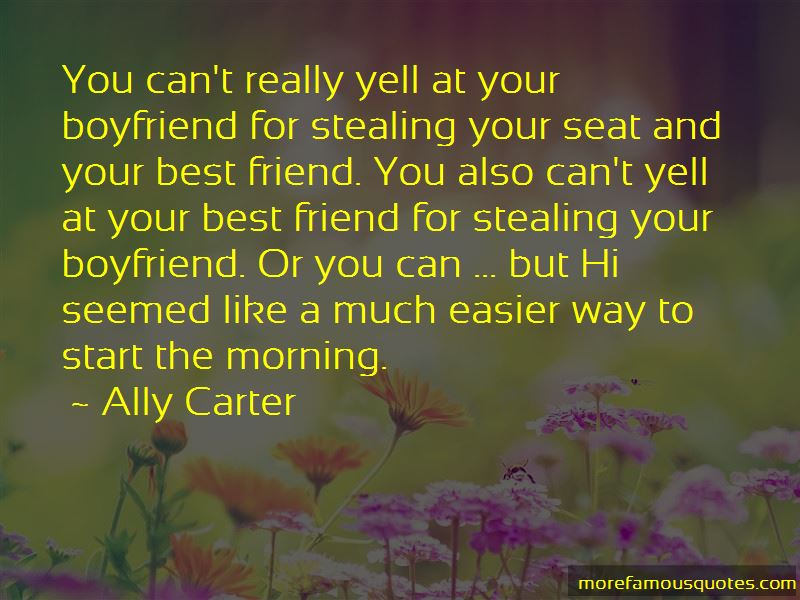 Morning For Boyfriend Quotes
