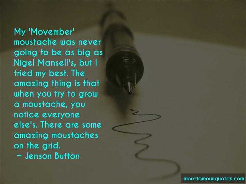 Movember Moustache Quotes