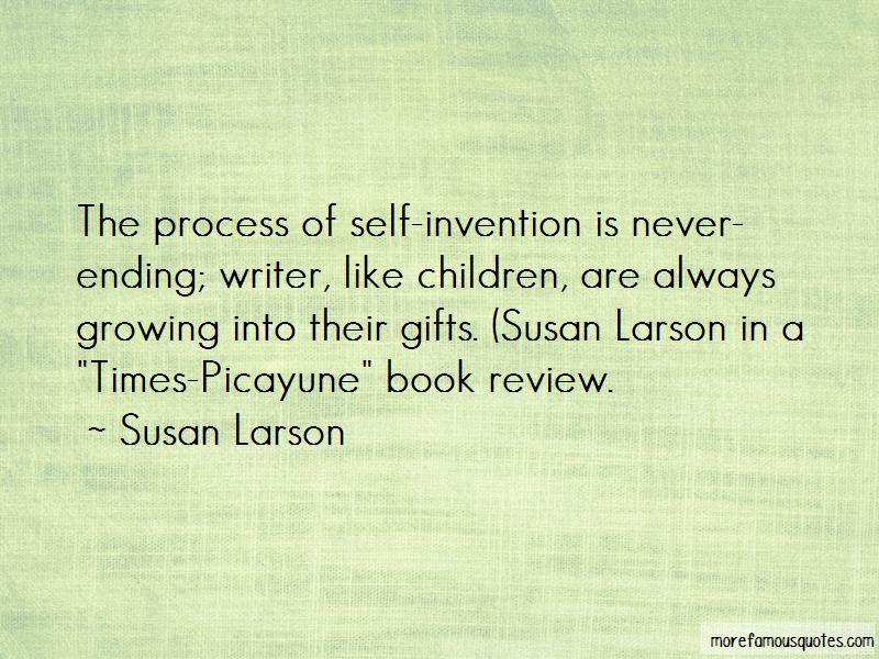 Mr Larson Quotes