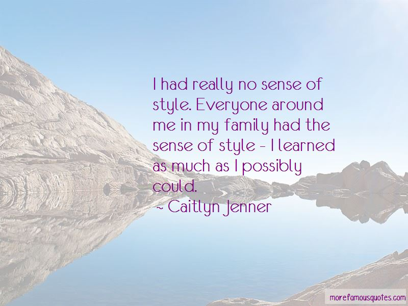 No Sense Of Style Quotes Pictures 3
