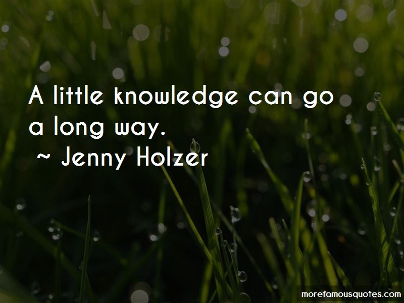 Quotes About A Little Knowledge
