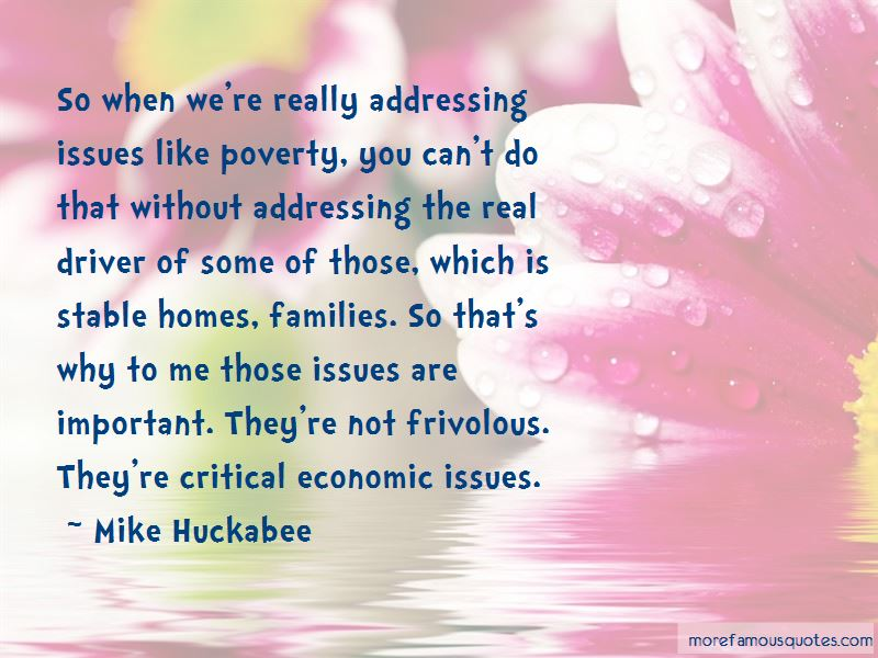 Quotes About Addressing Issues