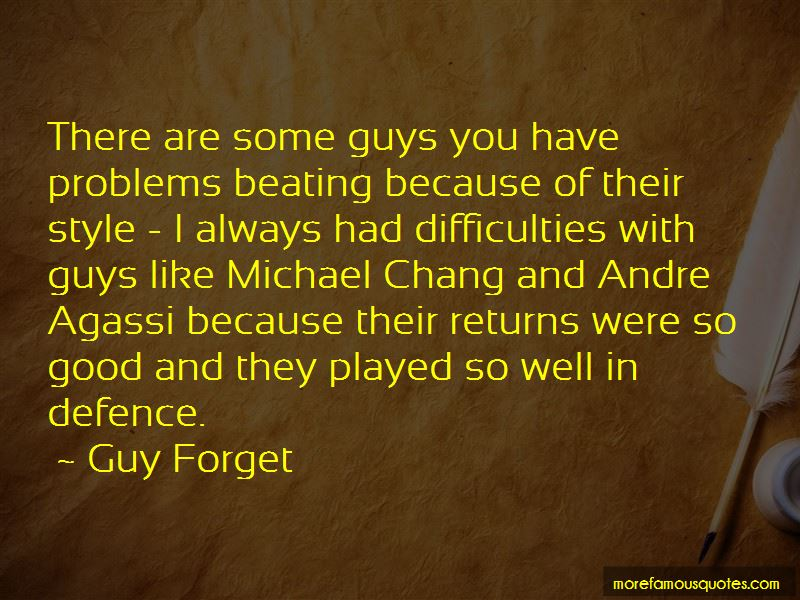 Quotes About Andre Agassi