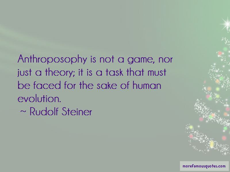 Quotes About Anthroposophy
