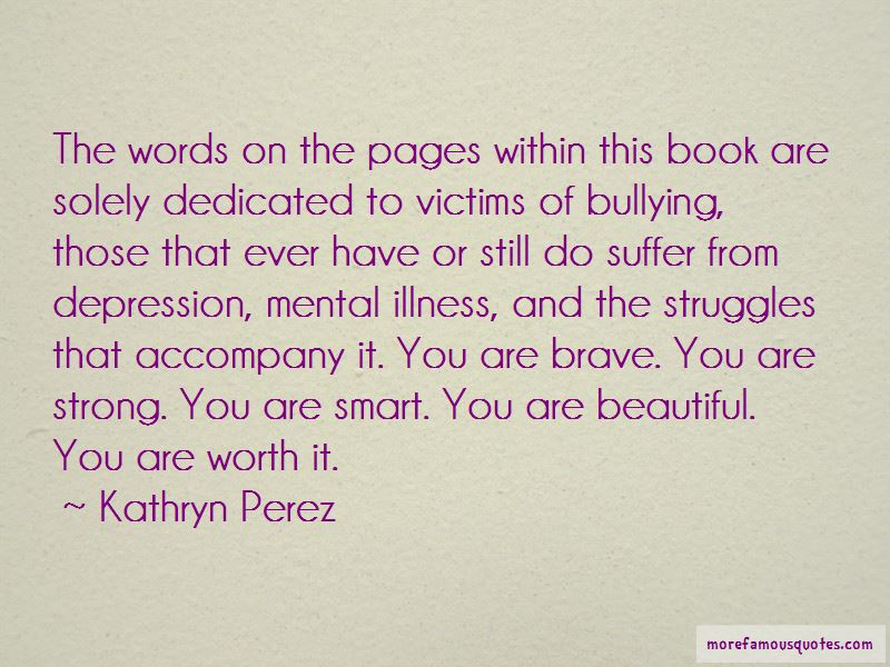 Quotes About Bullying Victims