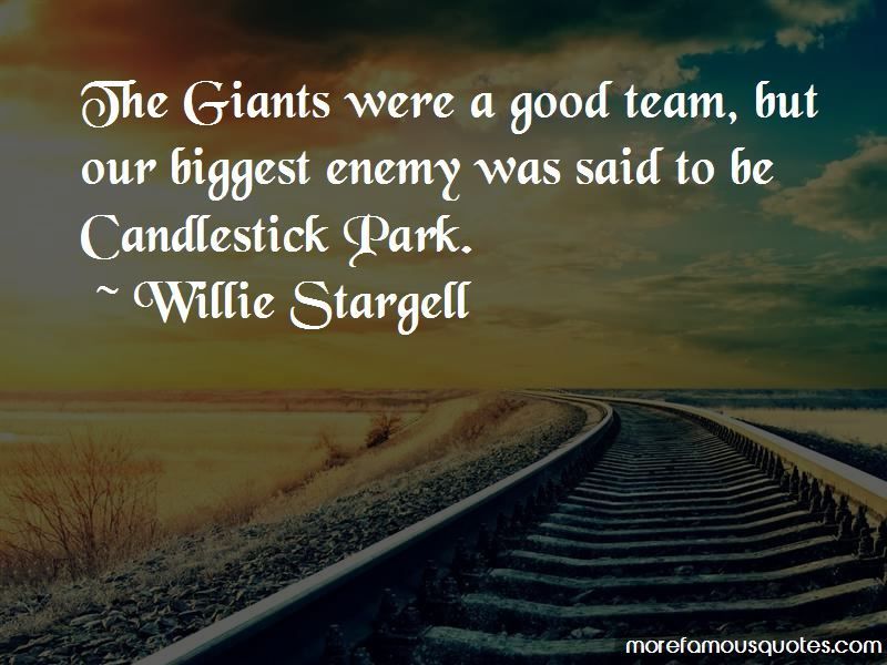 Quotes About Candlestick Park