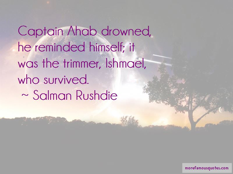 Quotes About Captain Ahab
