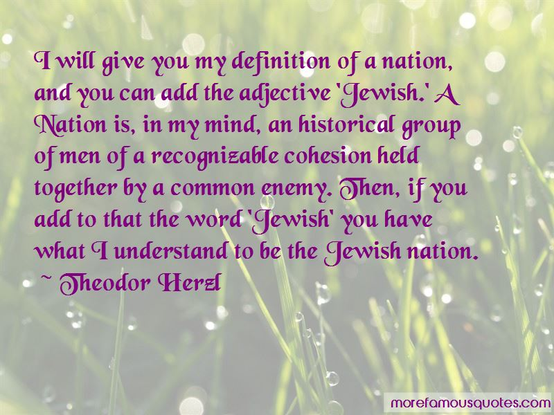 Quotes About Cohesion
