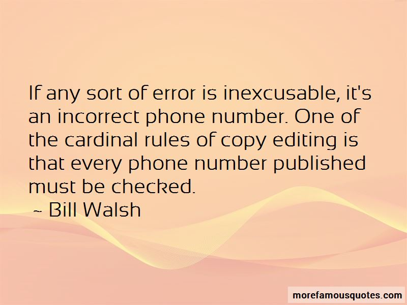 Quotes About Copy Editing