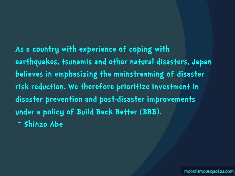 Quotes About Disaster Risk Reduction