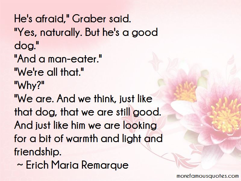 Quotes About Dog And Man Friendship