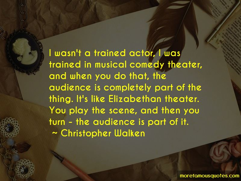 Quotes About Elizabethan Theater
