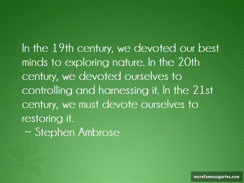 Quotes About Exploring Nature