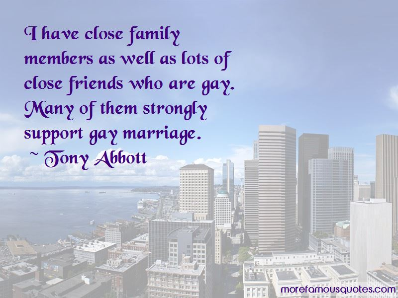 Quotes About Gay Marriage And Family