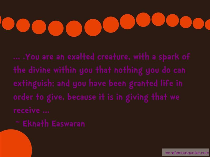 Quotes About Giving In Order To Receive