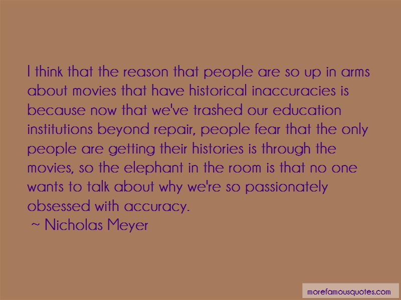 Quotes About Historical Inaccuracies