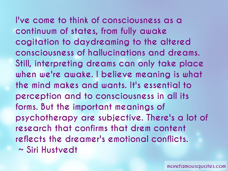 Quotes About Interpreting Dreams