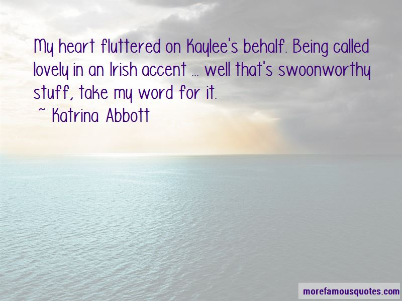 Quotes About Irish Accent