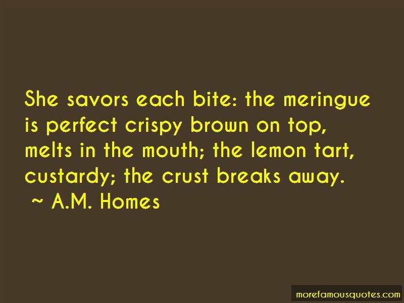 Quotes About Lemon Tart
