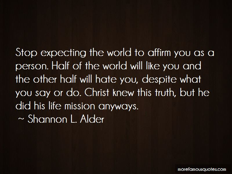 Quotes About Life Mission