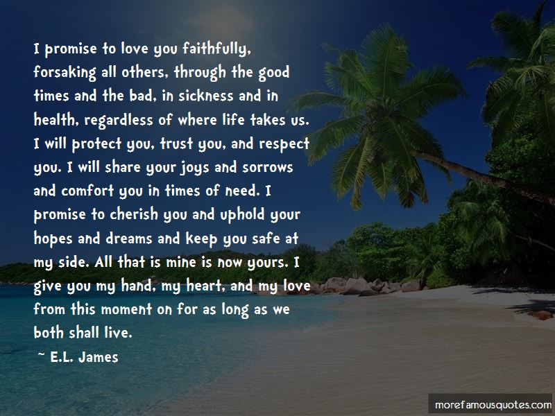 Quotes About Love Through Good And Bad