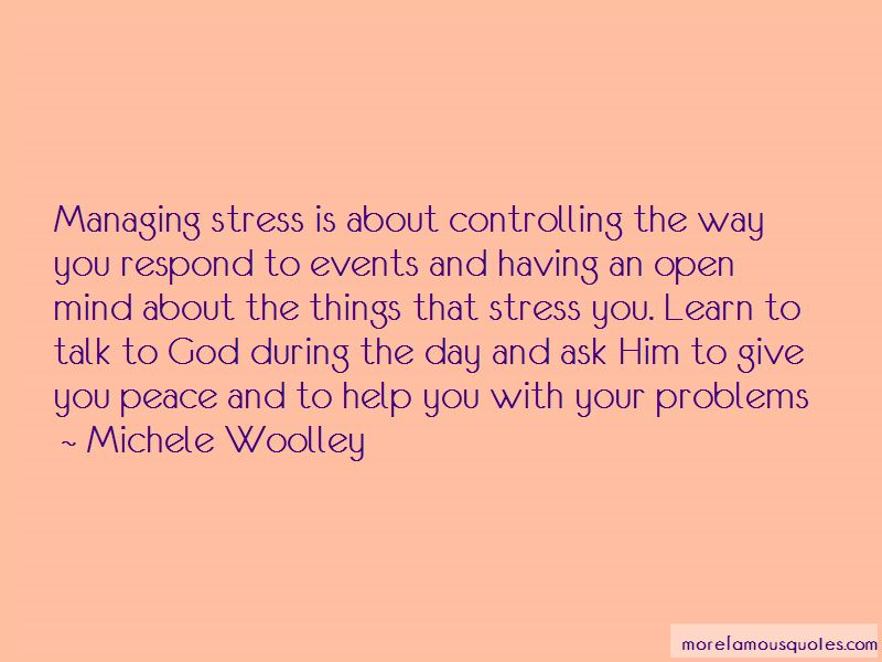 Quotes About Managing Stress