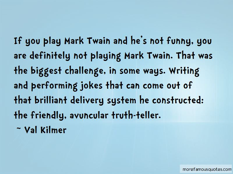 Quotes About Mark Twain Writing