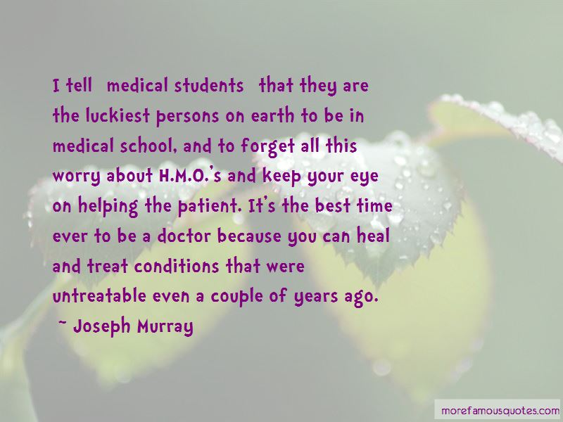 Quotes About Medical School Students