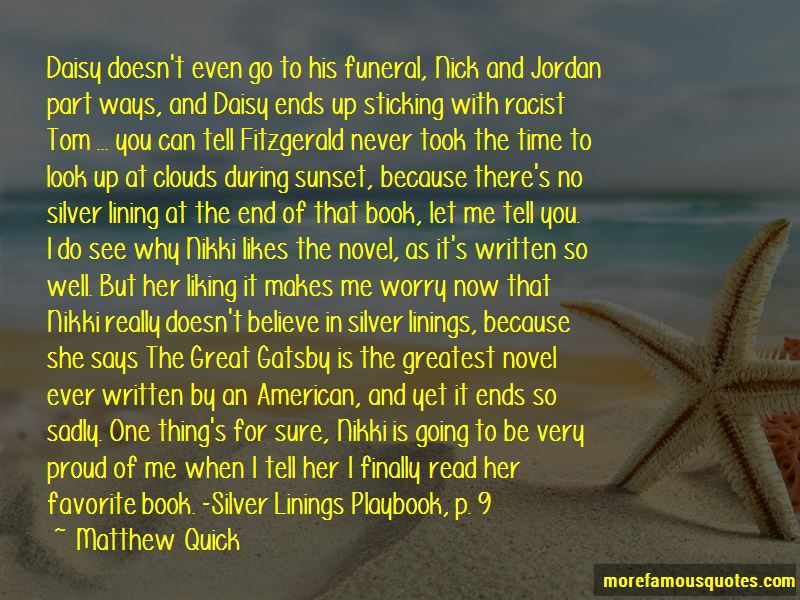 Quotes About Nick From The Great Gatsby