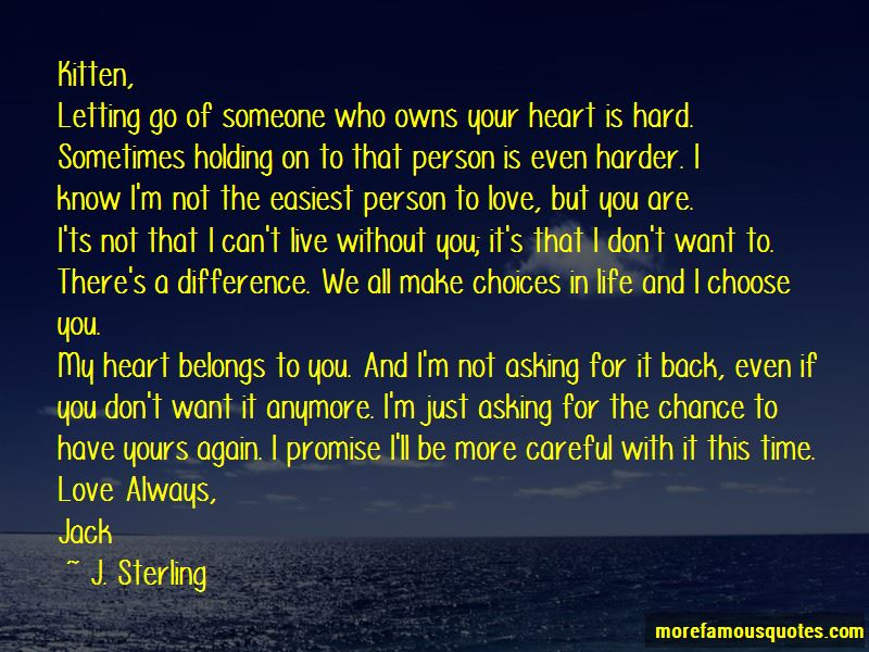 Quotes About Not Letting Someone In Your Heart