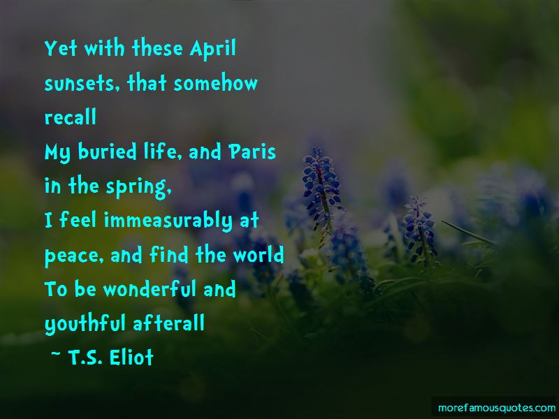 Quotes About Paris In The Spring