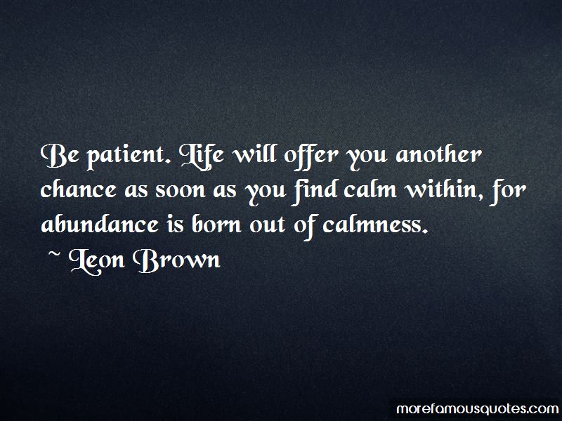 Patient In Life Quotes Pictures 3