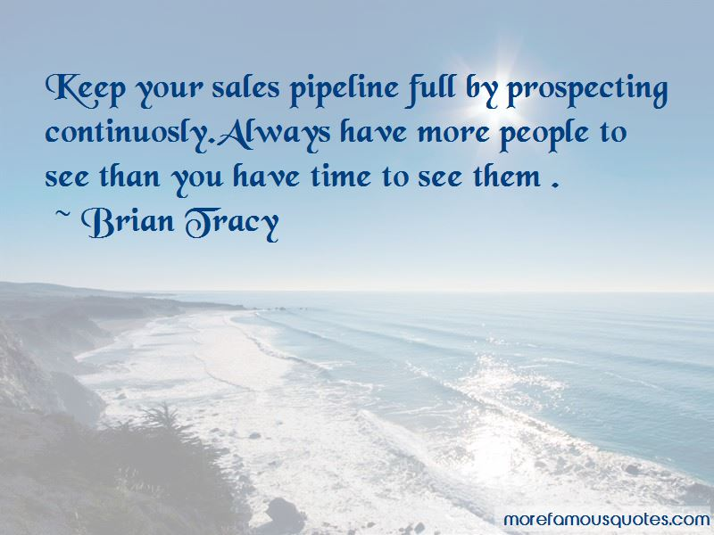 Quotes About Prospecting Sales