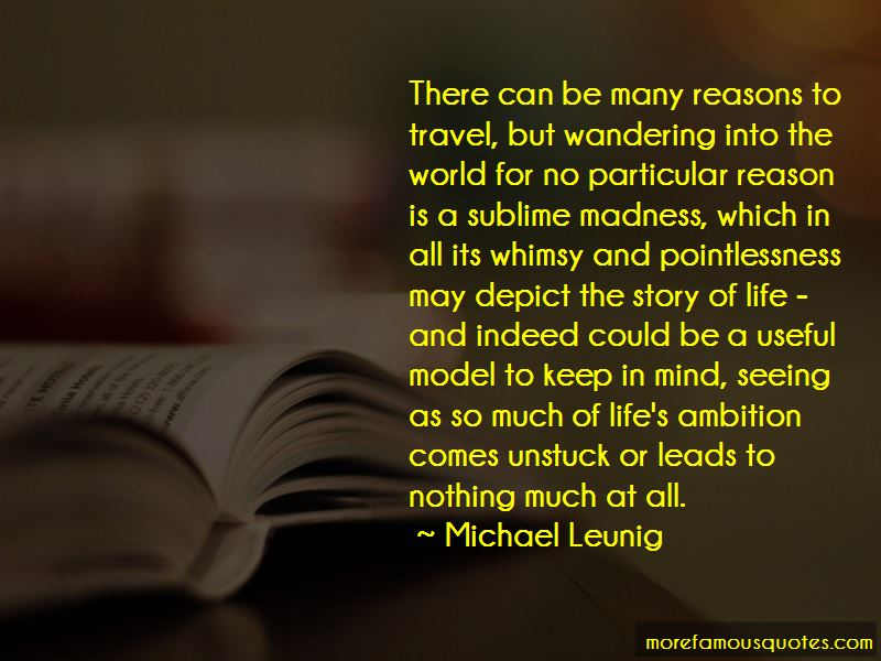 Quotes About Reasons To Travel