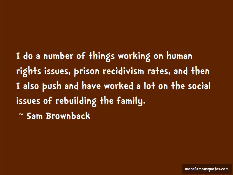 Quotes About Recidivism