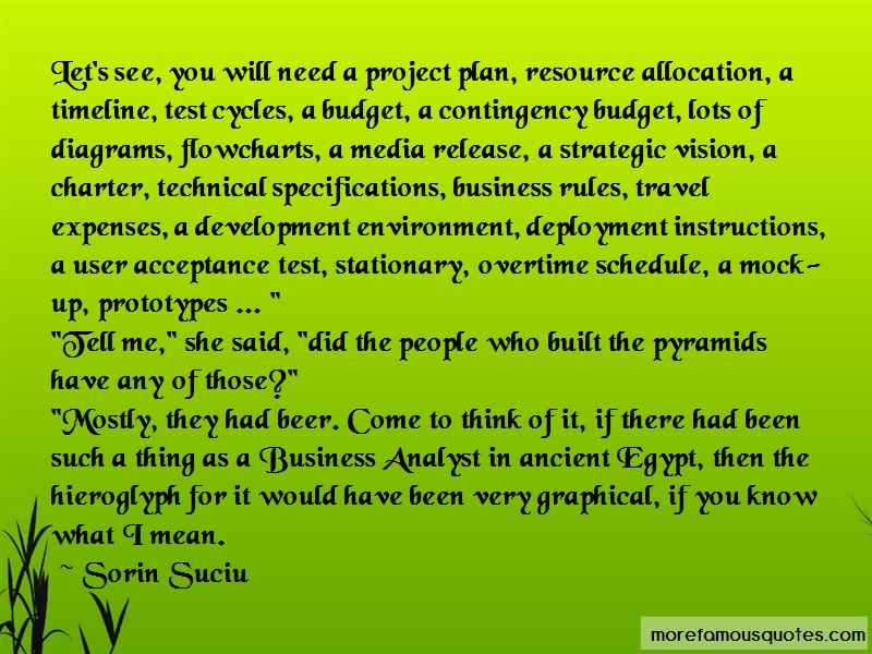 Quotes About Resource Allocation