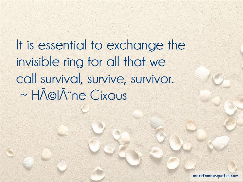Quotes About Ring Exchange