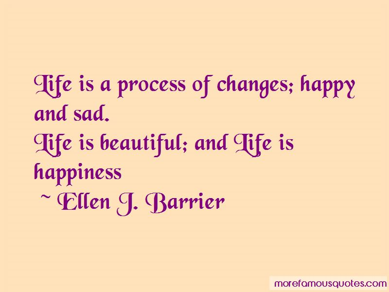 Quotes About Sad Life Changes