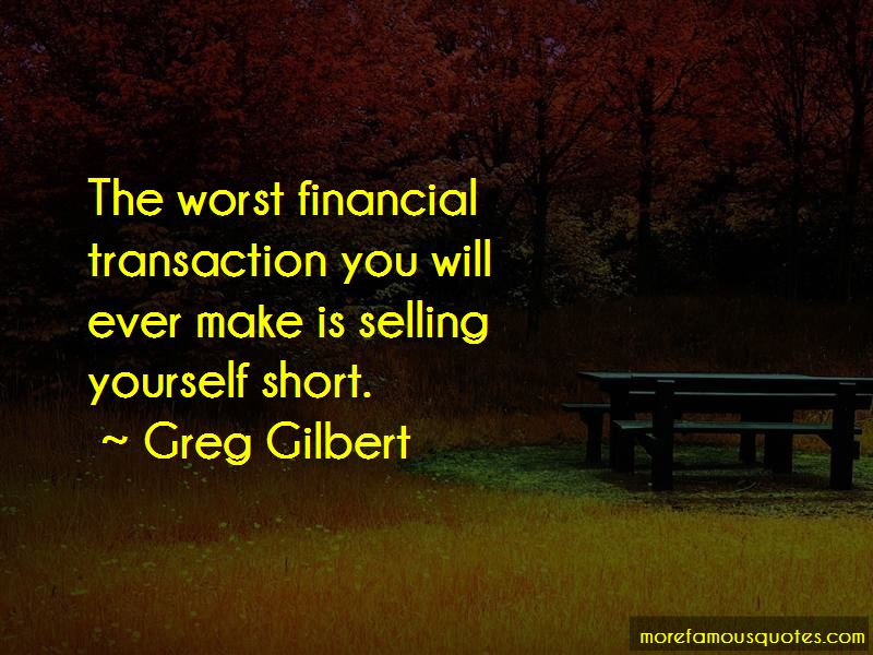 Selling Yourself Short Quotes Pictures 2