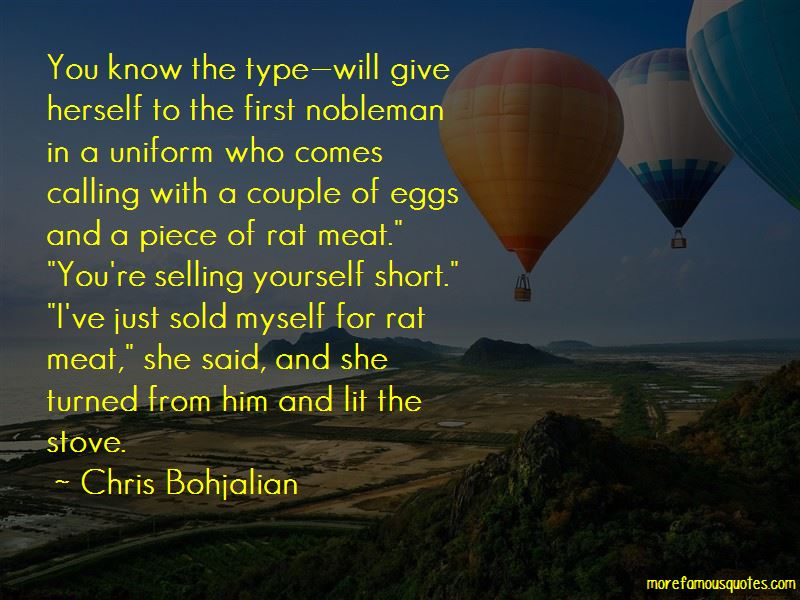Quotes About Selling Yourself Short